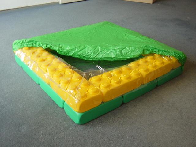 esda fun blocks spielbausteine spa becken 90x90 mit abdeckhaube esda technologie gmbh. Black Bedroom Furniture Sets. Home Design Ideas